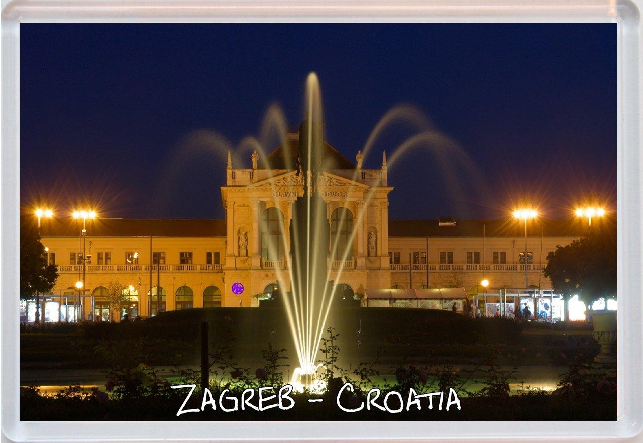 Zagreb - regalo imán grande de Croacia - para la nevera: Amazon.es ...