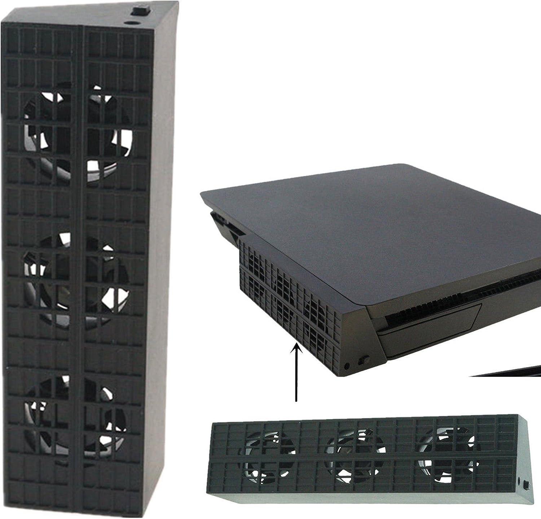 QUMOX PS4 Slim Super Ventilador Externo: Amazon.es: Electrónica