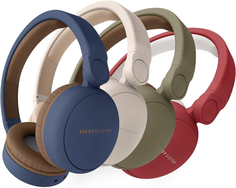 Energy Headphones 2 Bluetooth Ruby Red (Circum aural, système de Pliage, Batterie Rechargeable, Audio in)