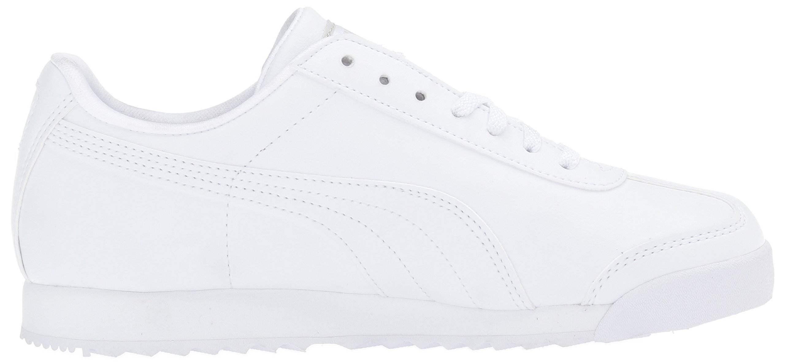 PUMA Roma Basic JR Sneaker , White/Light Gray, 3 M US Little Kid by PUMA (Image #7)