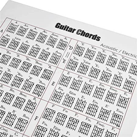 G-wukeer Etiqueta de Acorde de Guitarra, Acordes de Guitarra ...