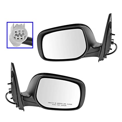 Power Side View Mirror Passenger Right RH for 98-03 Escort ZX2 2 Door Coupe