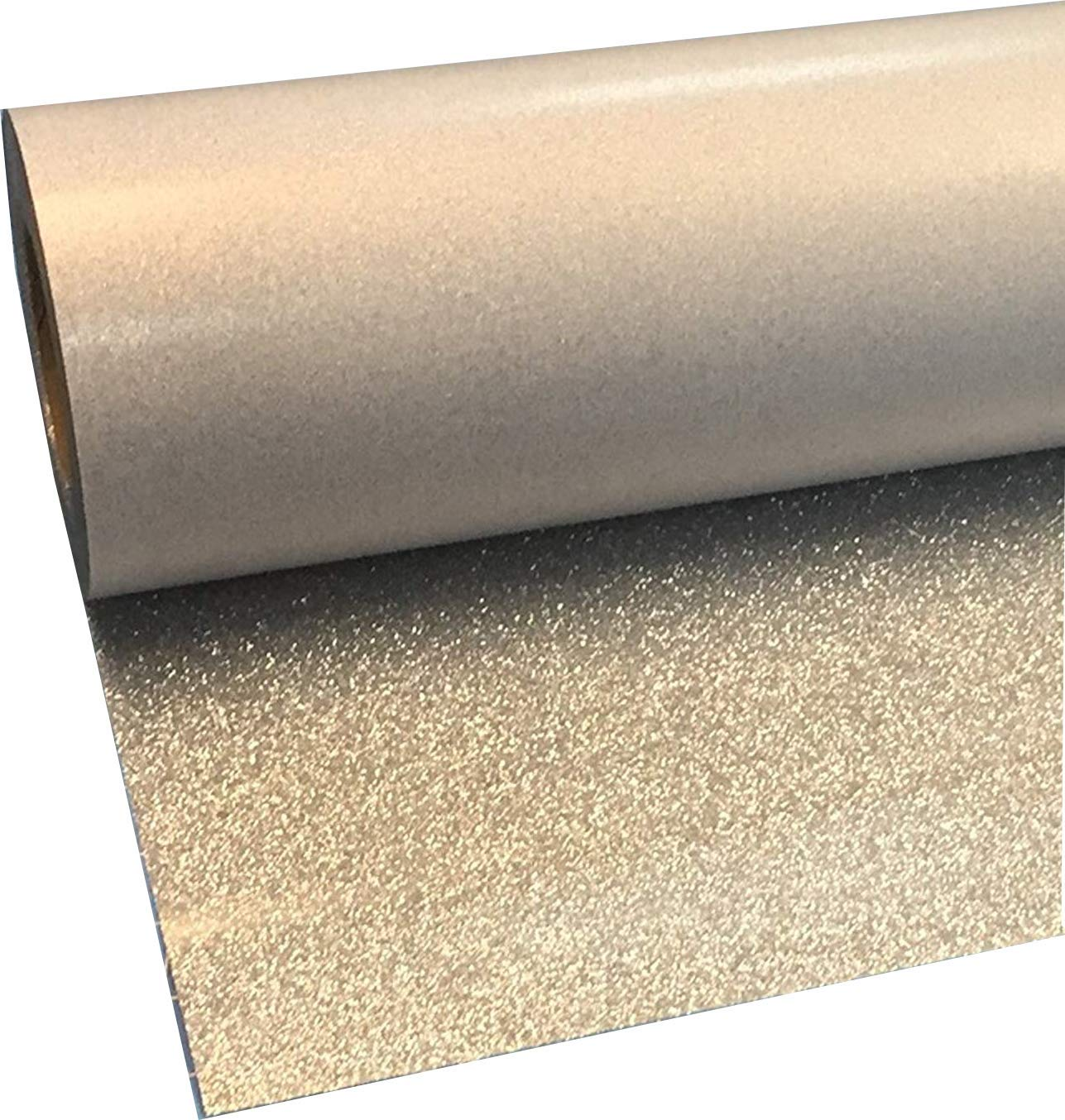 Siser Glitter Silver 20'' x 10' Iron on Heat Transfer Vinyl Roll, HTV