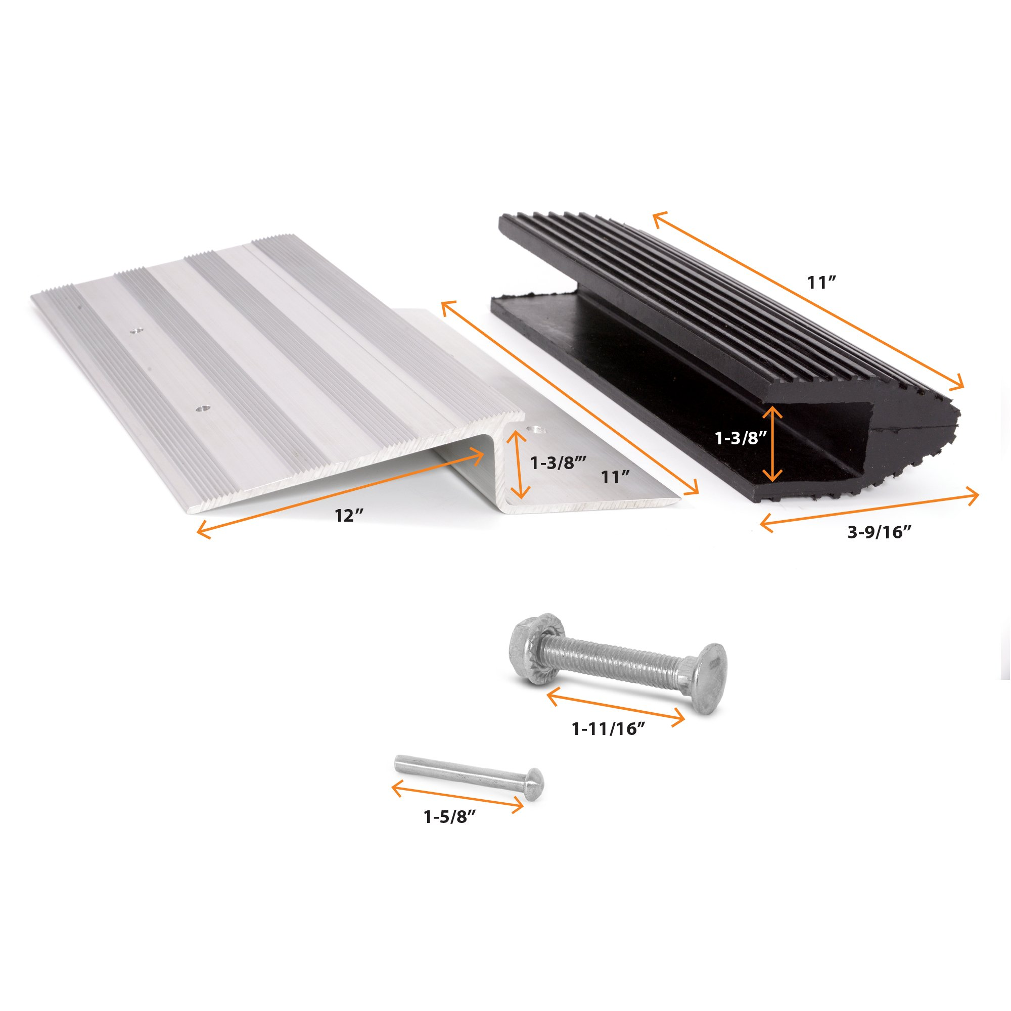 Wide Truck Ramps - 12-inch Aluminum Quick-Ramp Kit by AFA Tooling by AFA Tooling Approved for Automotive (Image #4)