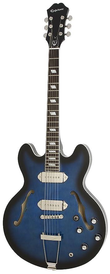 Epiphone Gary Clark Jr. Blak & Blu Casino ETGCBBNH3 - Guitarra eléctrica, color blak