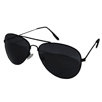 mens black aviators  Aviator Style Sunglasses - Unisex Shades Top Gun UV400 Mens Ladies ...