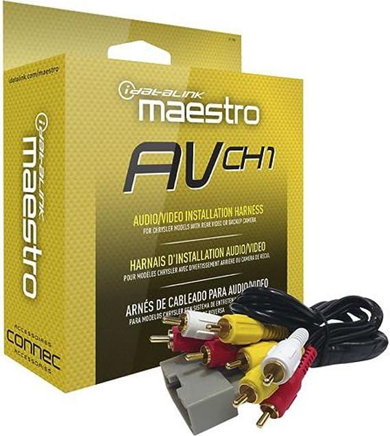 Maestro HRN-AV-CH1 Rear Seat Video /& Backup Camera Harness for CH1 Vehicles