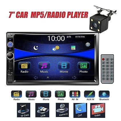 Amazon Com Regetek Car Stereo Double Din 7 Touchscreen In Dash