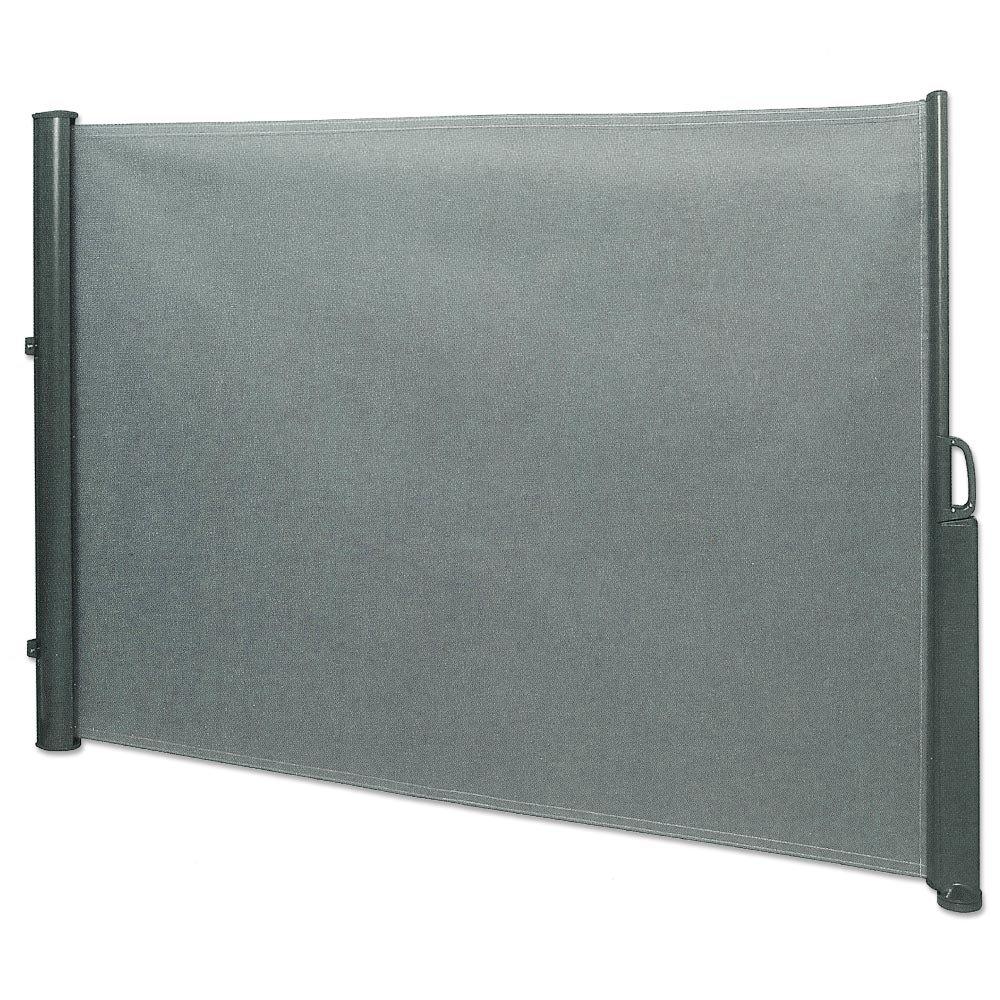 Amazon Seitenmarkise 1 8 x 3 5 m grau Sichtschutz