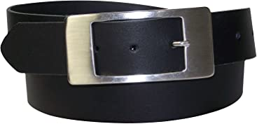 FRONHOFER klassischer Damengürtel Echtledergürtel 3,5 cm Dornschließe rechteckig