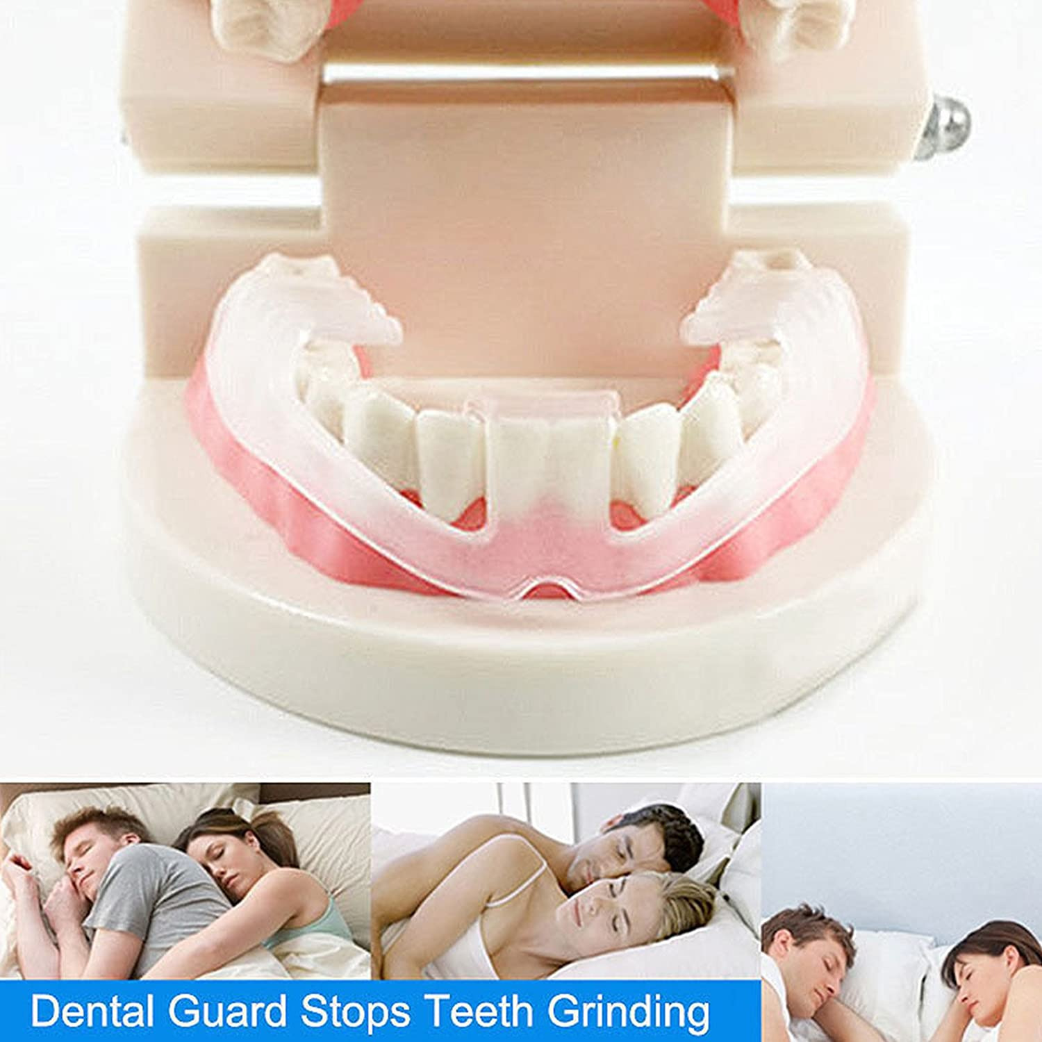 Toyofmine Tooth Grinding Storage Case Hot Dental Mouth Guard Bruxism Splint Night Sleeping