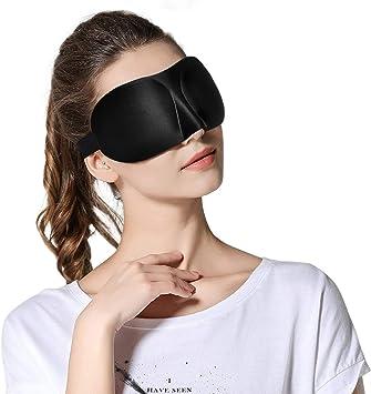 1 pièce  Masque de Sommeil 3D Douce Nuit  pour Voyage ou maison
