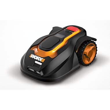 Worx WG794 Landroid Pre-Programmed Robotic Lawn Mower with Rain Sensor and Safety Shut-Off