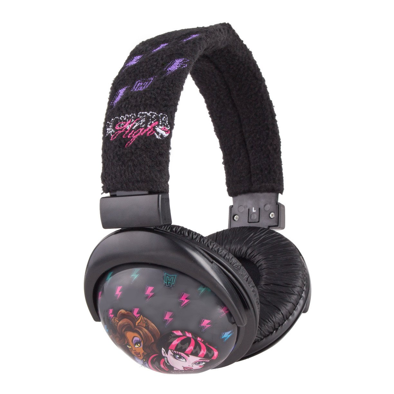 Sakar Monster High Printed Plush Headphones(11648)