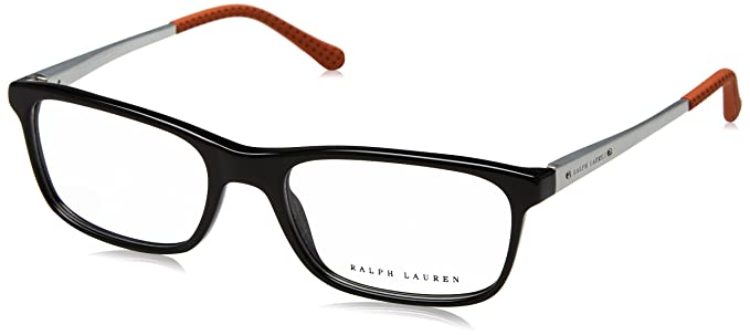 b6afc1c00408 Amazon.com: Ralph Lauren RL6134 Eyeglass Frames 5001-53 - Black ...