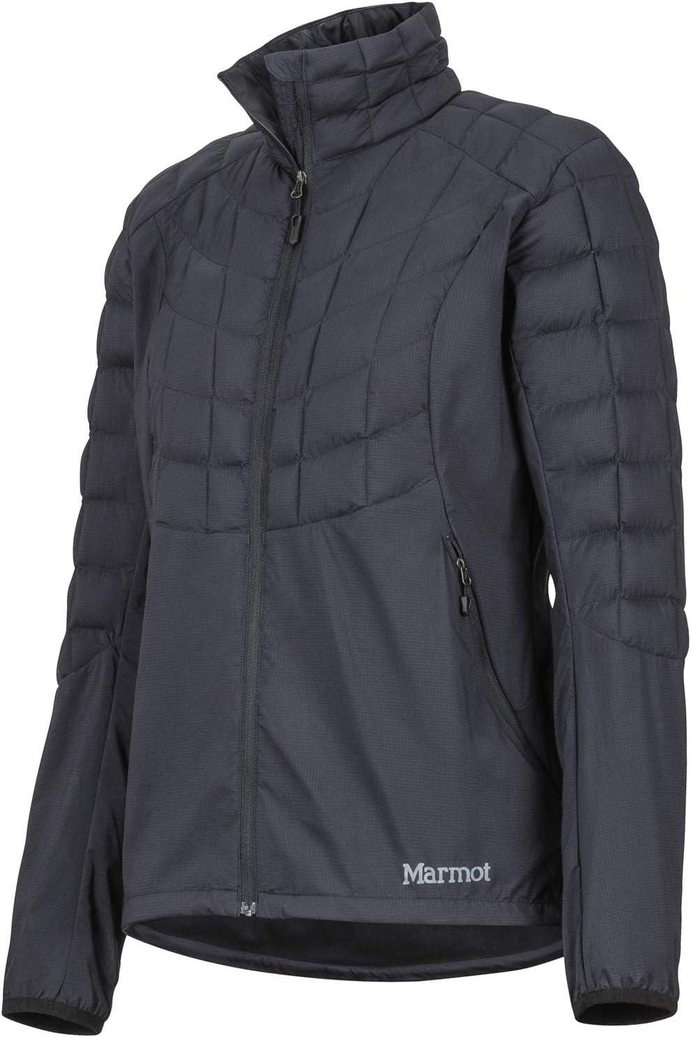 Veste de randonn/ée Coupe-Vent Marmot Wms Featherless Hybrid Jacket Softshell Isolante Anorak Femme