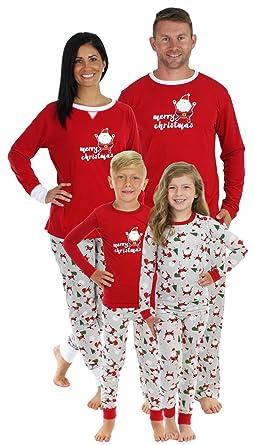 sleepyheads christmas santa family matching pajama set mens shm 4036 m