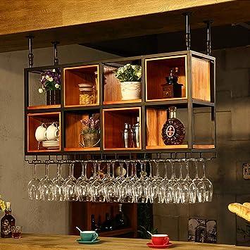Individualite Suspendue Plafond Bois Massif Casier A Vin