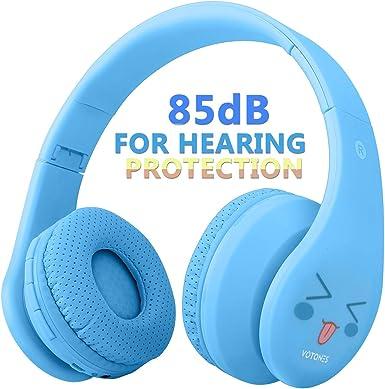 Auriculares inalámbricos para niños, con cancelación de ruido ...