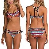 Fashion Women Sexy Top, Egmy Popular Sexy Women Bikini Set Swimwear Push-Up Padded Bra Swimsuit Beachwear (M)