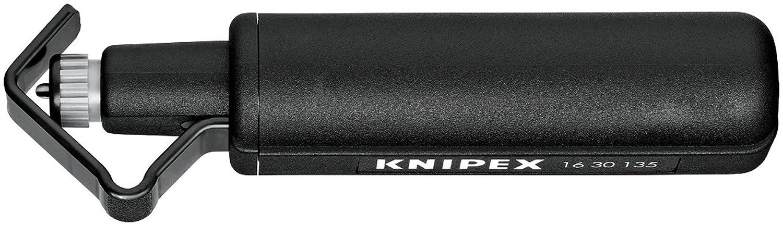 Knipex Alicate Pelacables 16 30 135 SB, Negro, 135mm