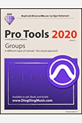 Pro Tools 2020 - Groups: A different type of manual - the visual approach Kindle Edition