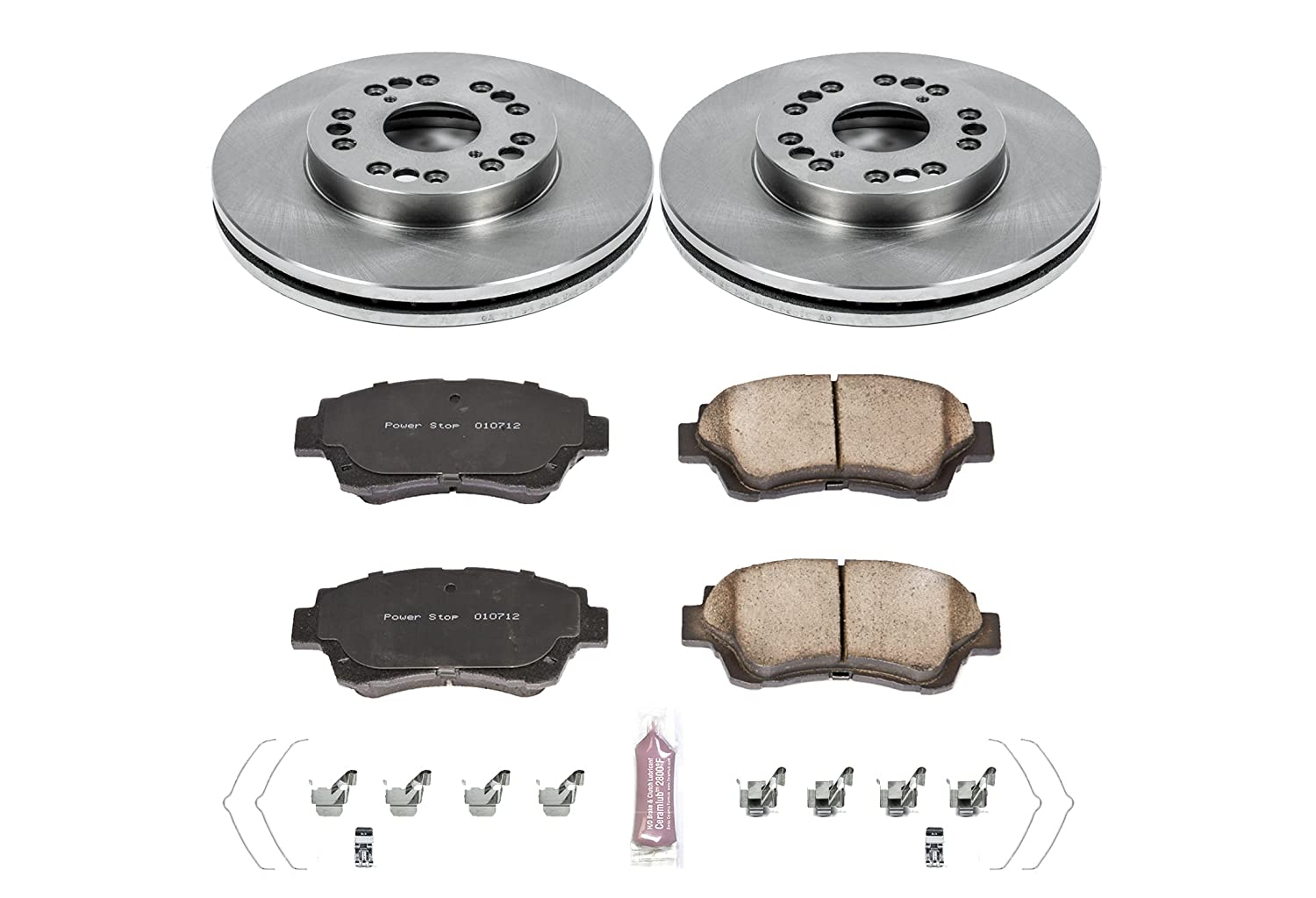 KOE5388 Daily Driver OE Brake Kit Autospecialty Front Power Stop