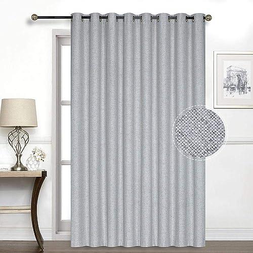 100 Blackout Sliding Glass Door Curtain