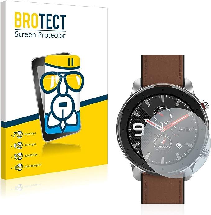 BROTECT Protector Pantalla Cristal Compatible con Huami Amazfit ...