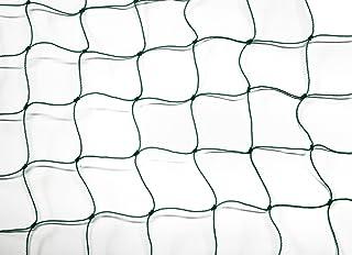 Filet pare-ballons–Filet de–Adaptateur–Vert–Épaisseur du fil 1,2mm Mailles 5cm Dimensions: 3,00m x 45m 2mm Mailles 5cm Dimensions: 3