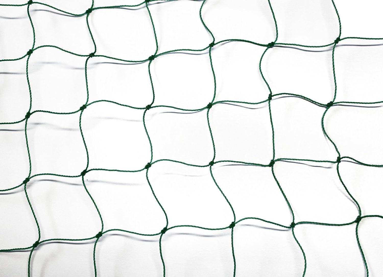 Ballfangnetz - Ballnetz - Netz - grün - Masche 5 cm - Stärke  1,2 mm - Größe  3,00 m x 20 m