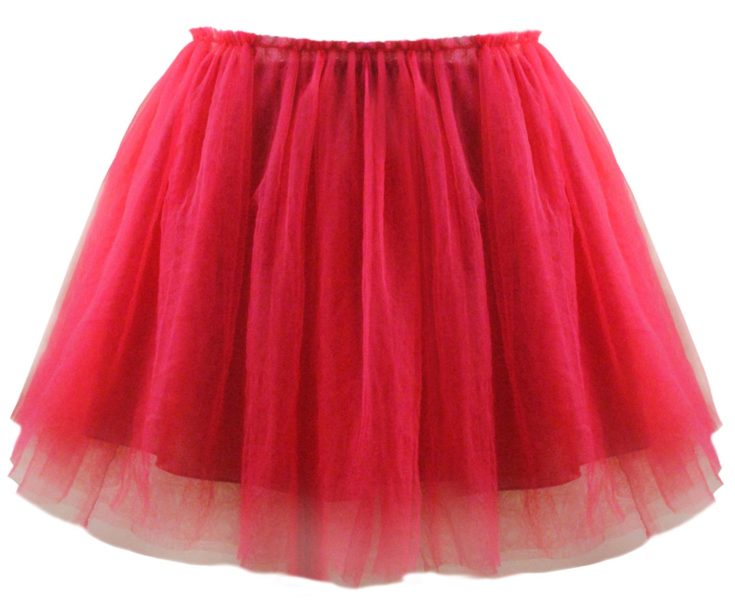 Abbyabbie.Li Girl Tutu Skirt Four Layer Lace Cover Cotton Lining for Party Ceremony Casual Party