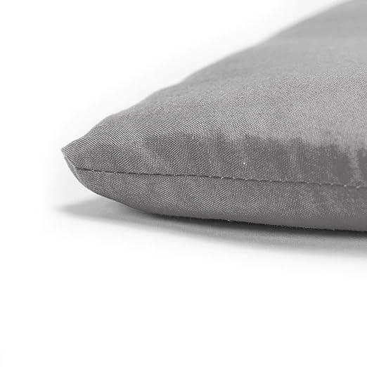diMio - Cojín para asiento 40 x 40 x 3,3 cm, elegante, estilo rústico, en 12 colores de moda, acolchado suave: Amazon.es: Hogar