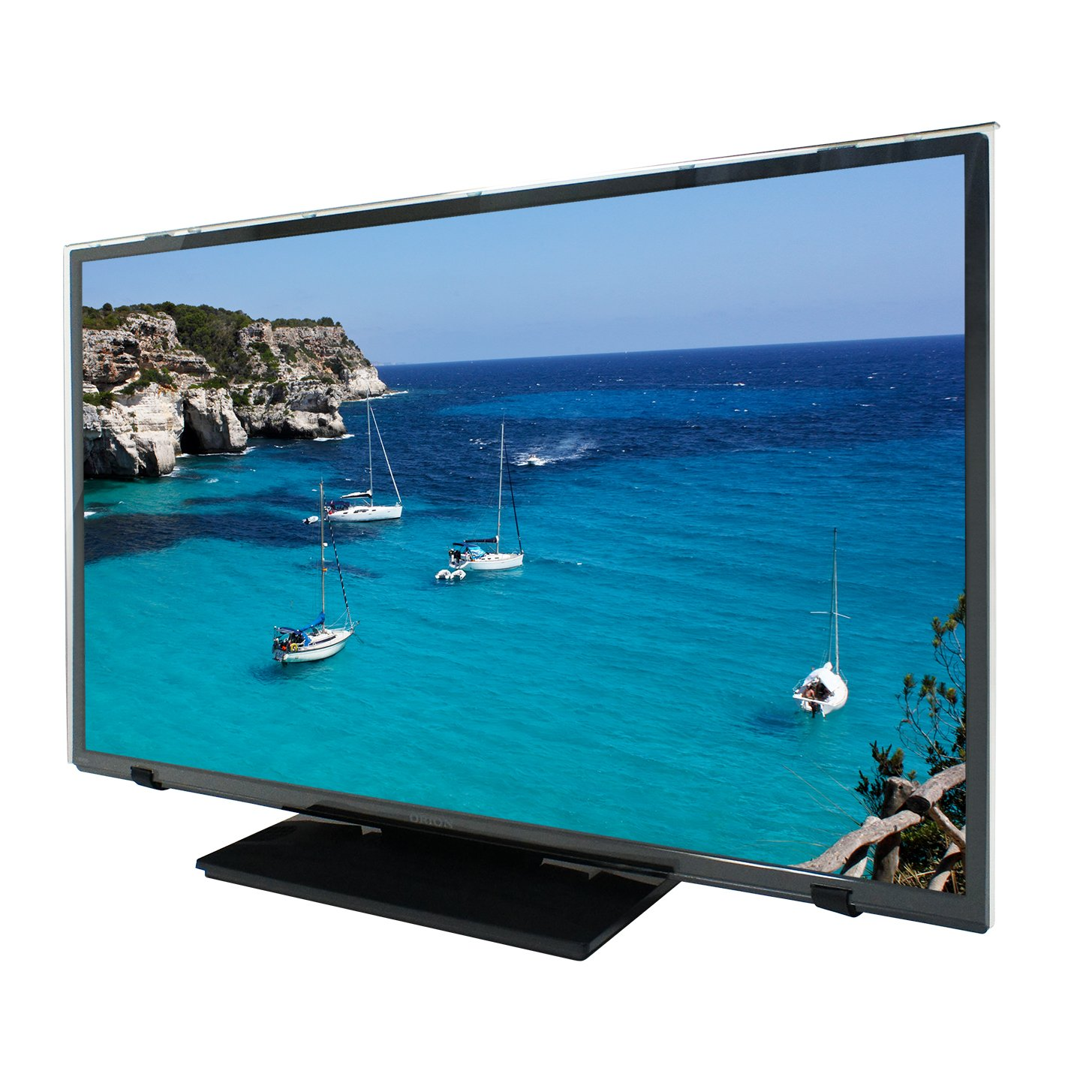 ブルーライトカット 液晶テレビ画面保護パネル (55型 55MBL4) 固定ベルト付 B076BMPK47  55型