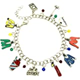Superheroes Brand Heathers Broadway Musical Charm Bracelet Jewelry Series w/Gift Box