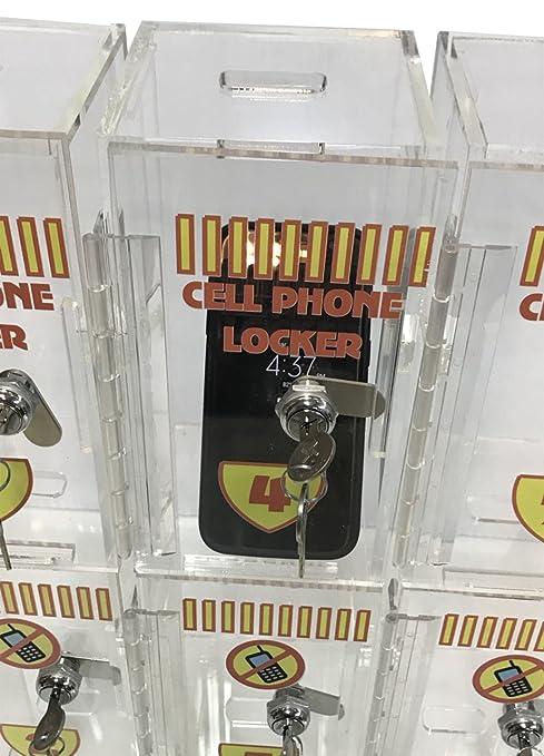 Amazon.com: Taquilla de acrílico para teléfono celular ...