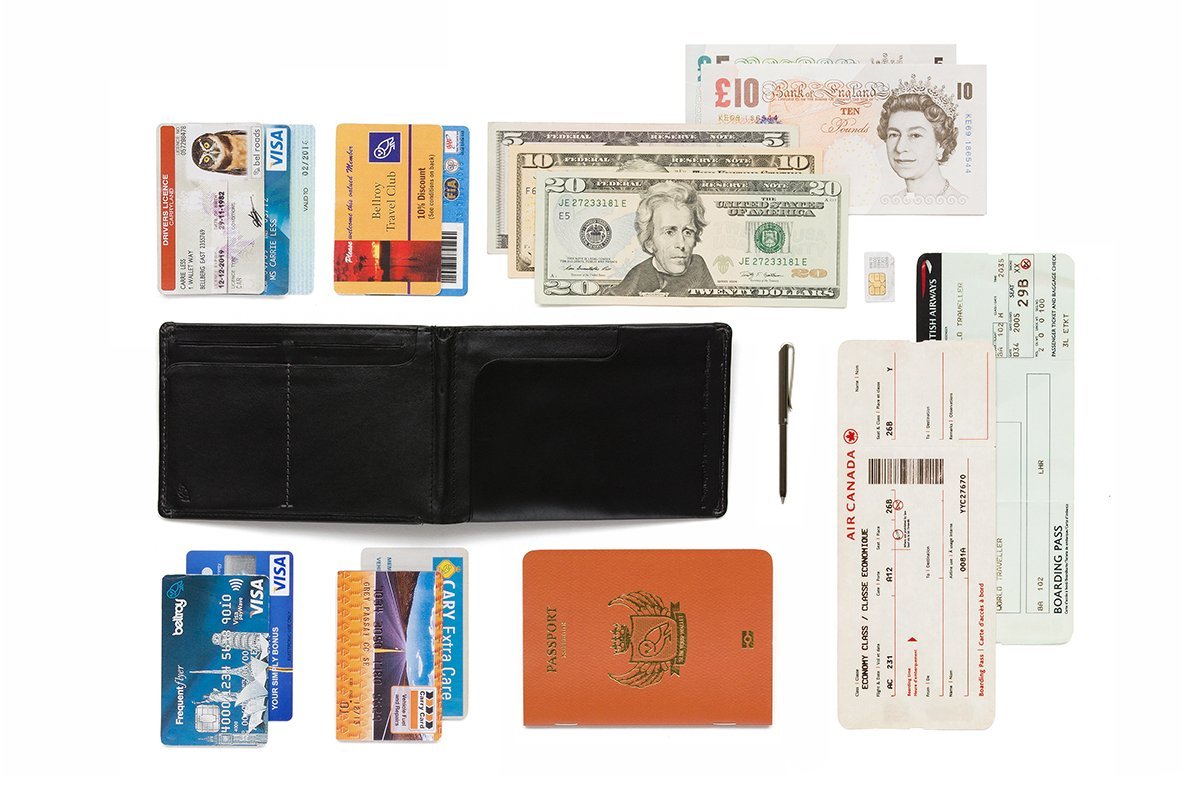 Bellroy Leather Travel Wallet Midnight by Bellroy (Image #4)