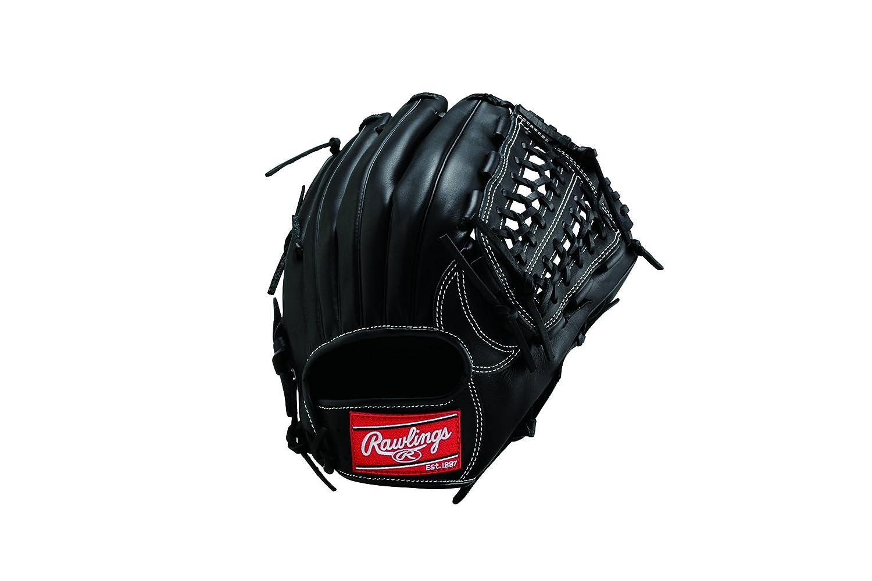 Rawlings(ローリングス) ソフトボール用 ローリングスゲーマー [オールラウンド用] [サイズ9] GS5G120 B00UPRFBXY RH (左投用) ブラック ブラック RH (左投用)