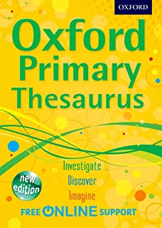 Oxford Primary Thesaurus 2012