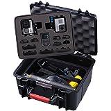 Smatree SmaCase GA700-2 Estuche de Materiales de ABS Duro Flotable / Resistente al Agua para Gopro Hero 5,4,3+,3,2,1(Cámara y Accesorios No Incluidos)