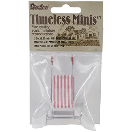Darice Timeless Miniatures, Baby Stroller