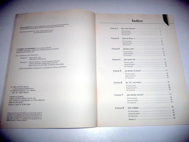 viaje al espanol class version level 1 activity book spanish