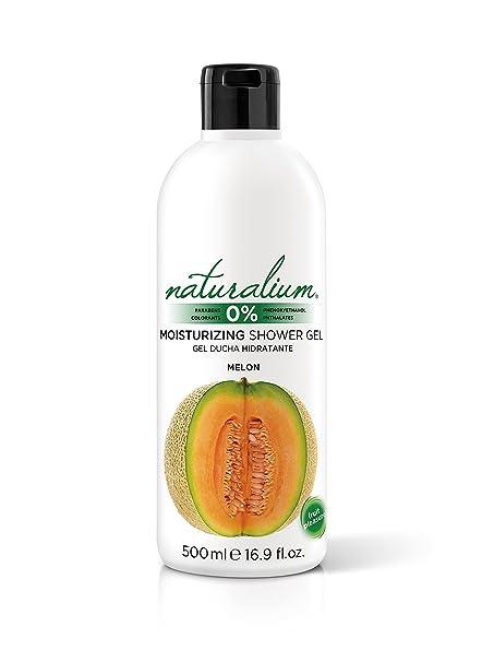 Naturalium Gel de baño aroma Melon - Gel de ducha hidratante con olor a fruta fresca. Sin Parabenos ni Colorantes. Formato 500 mL: Amazon.es: Belleza