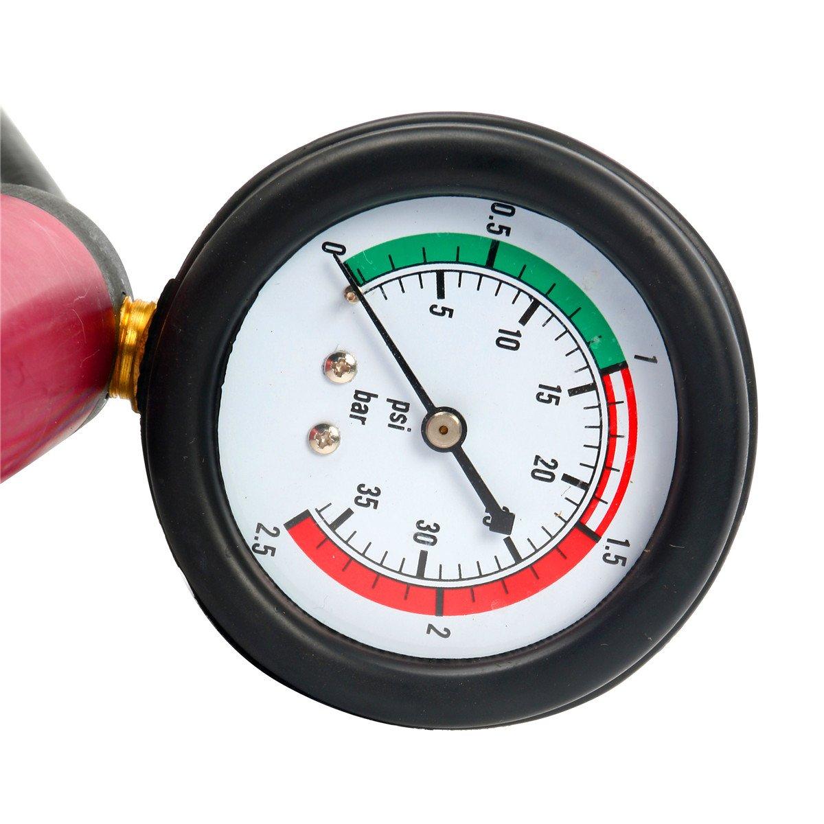 8MILELAKE 14pc Radiator Pump Pressure Leak Tester Kit Vacuum Pressure Cooling System Tester by 8MILELAKE (Image #3)
