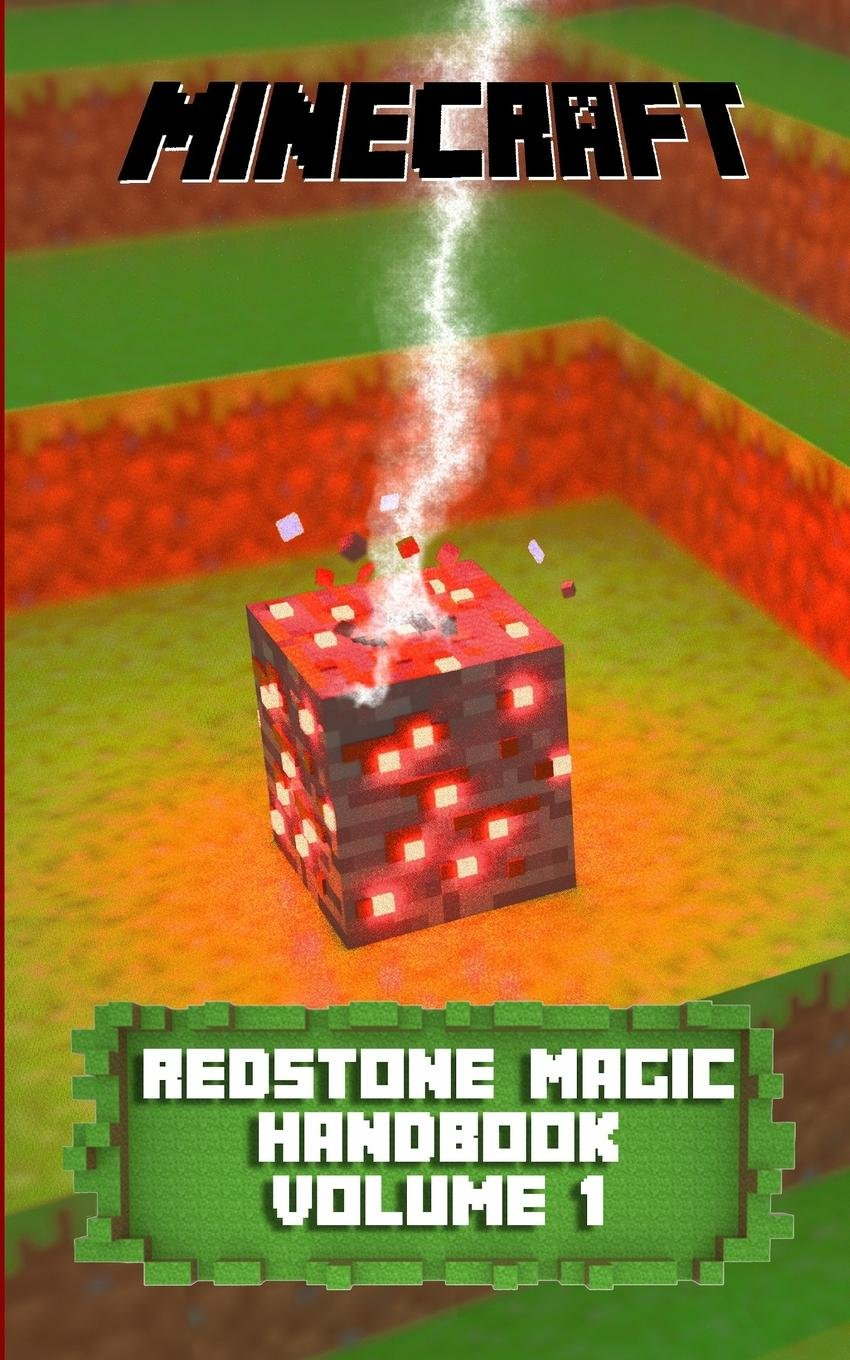 Redstone Magic Handbook Chris Dwyer 9781320488129 Books Minecraft Circuits