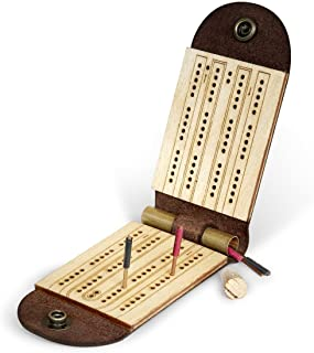 product image for Walnut Studiolo Cribbage Board Game
