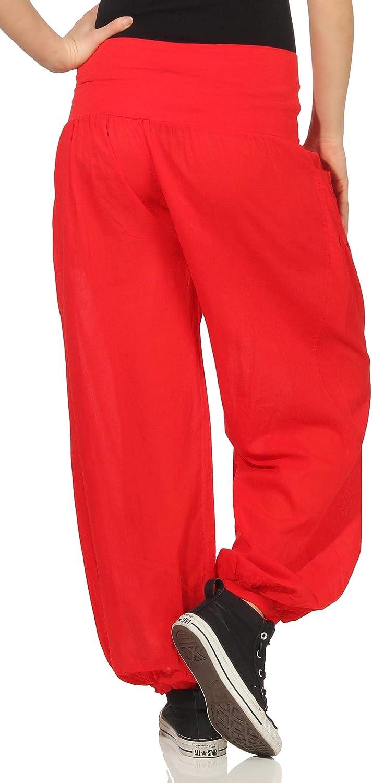 Malito Pantalone n Tissu Aladin Pantalon Bouffant Baggy