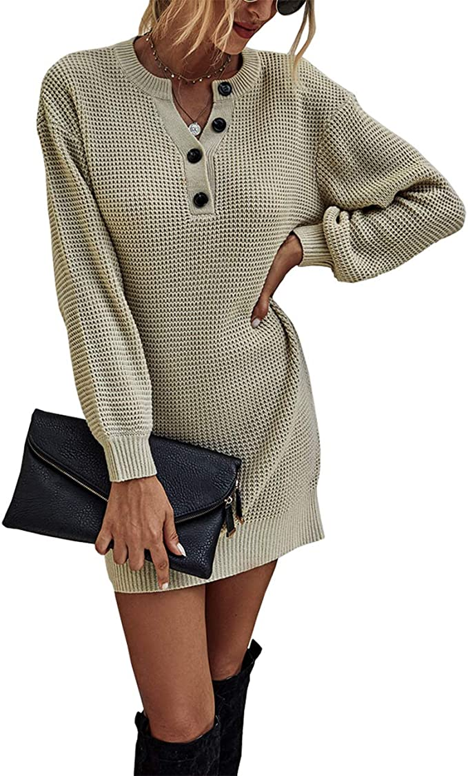 CHMORA Womens top Knitted Hollow Stitching V-Neck Hooded Sweater Sweater Casual Fashion Long-Sleeved Autumn and Winter top Shirt