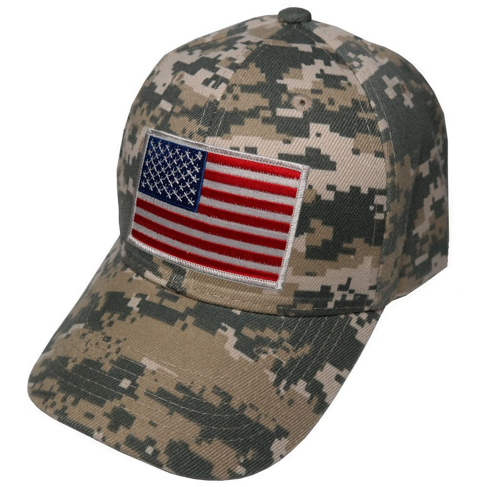 Armycrew Men s Army USA Flag Desert Patch Cap One Size Digital Camo at  Amazon Men s Clothing store  042702bc4c5