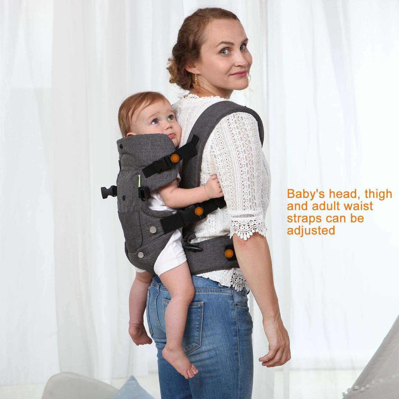 Xatan BABY convertible Carrier tous des position Nouveau-Né pour tout-petits ergonomique